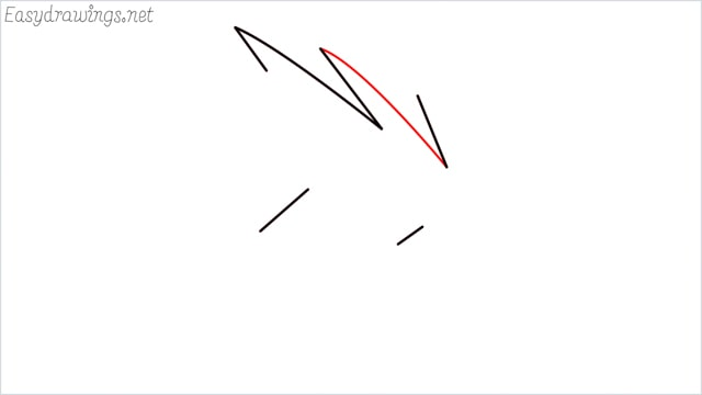how to draw a simple leaves step (7)