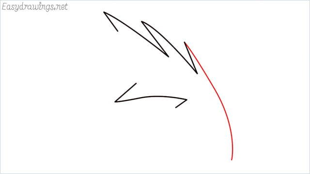how to draw a simple leaves step (9)