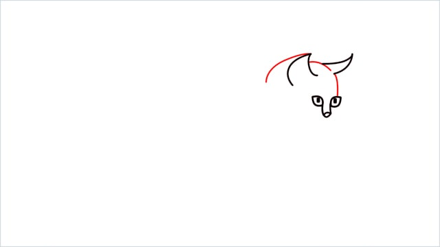 how to draw a walking baby cat (4)