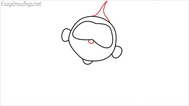 how to draw jack jack step (4)