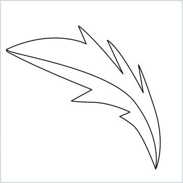 simple leaves drawing