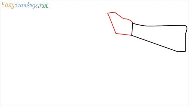 How to draw ump9(ump45) step (2)
