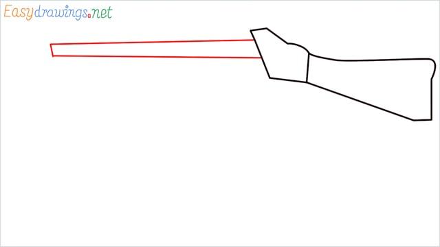 How to draw ump9(ump45) step (3)