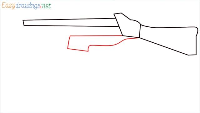 How to draw ump9(ump45) step (4)