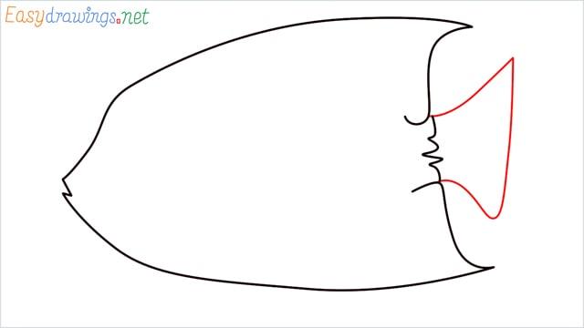 how to draw a King Angelfish step (5)