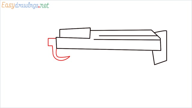 how to draw a groza gun step (5)