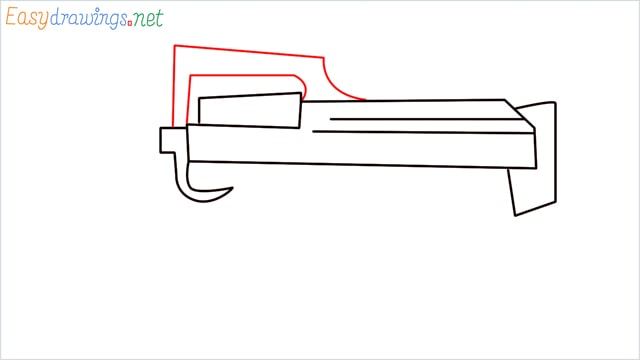 how to draw a groza gun step (6)