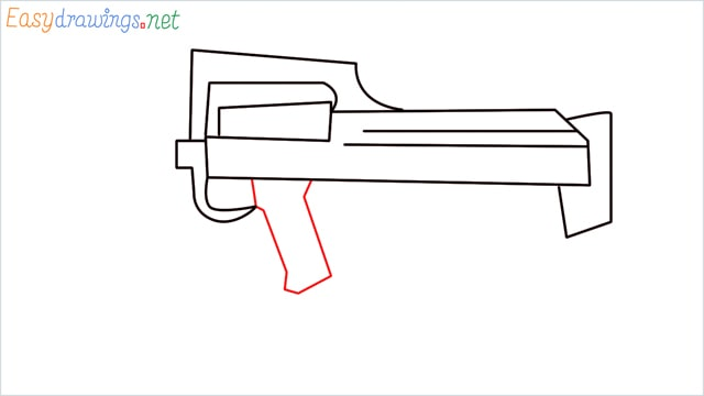 how to draw a groza gun step (7)
