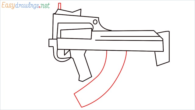 how to draw a groza gun step (9)