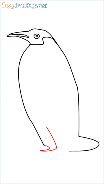 how to draw a penguin step (7)
