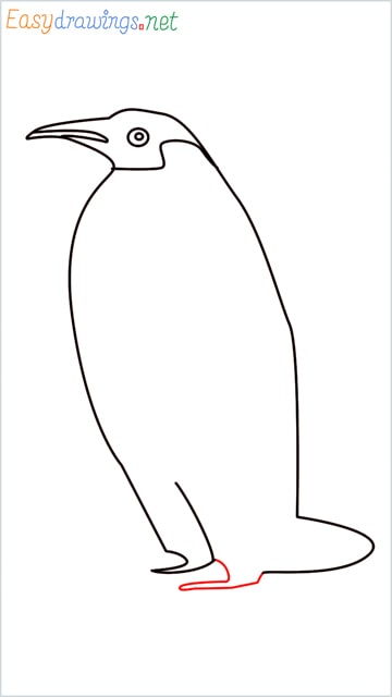 how to draw a penguin step (8)