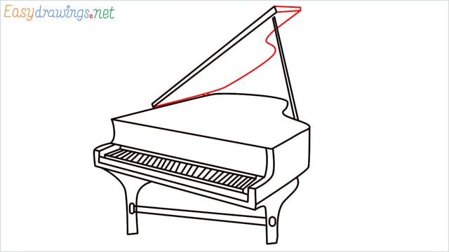 how to draw a piano step (12)