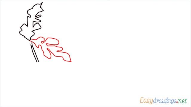 how to draw a watermelon tree step (3)