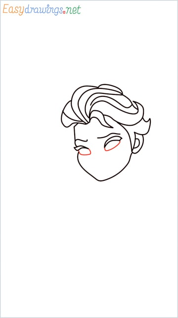 how to draw elsa step (11)