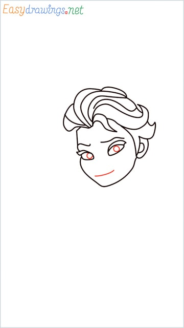 how to draw elsa step (12)