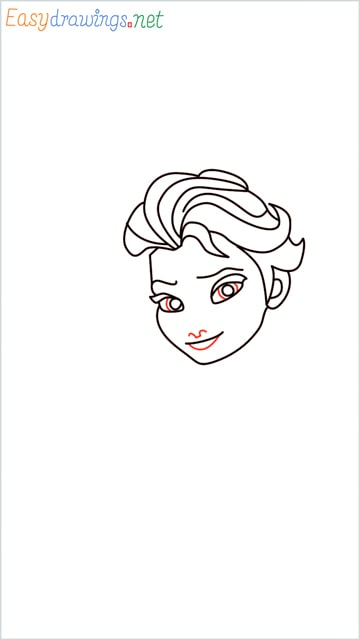 how to draw elsa step (13)