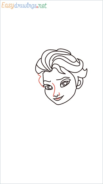 how to draw elsa step (14)