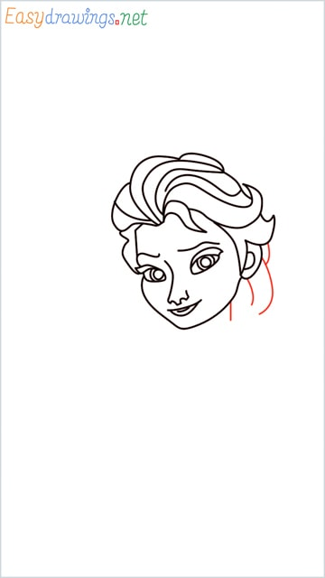 how to draw elsa step (15)