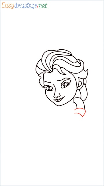 how to draw elsa step (17)