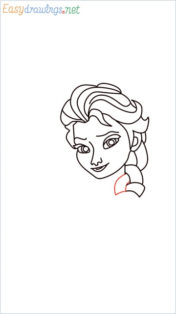 how to draw elsa step (18)