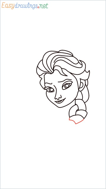 how to draw elsa step (19)