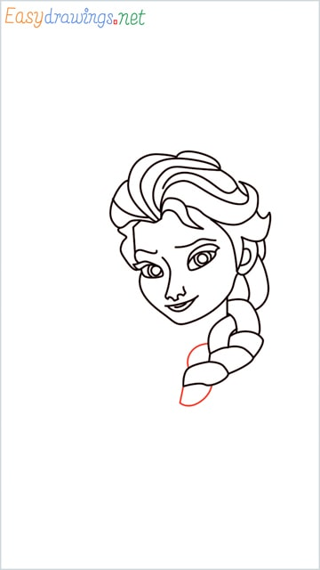 how to draw elsa step (21)