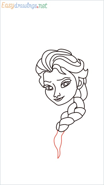 how to draw elsa step (23)