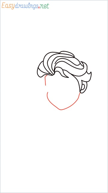 how to draw elsa step (8)