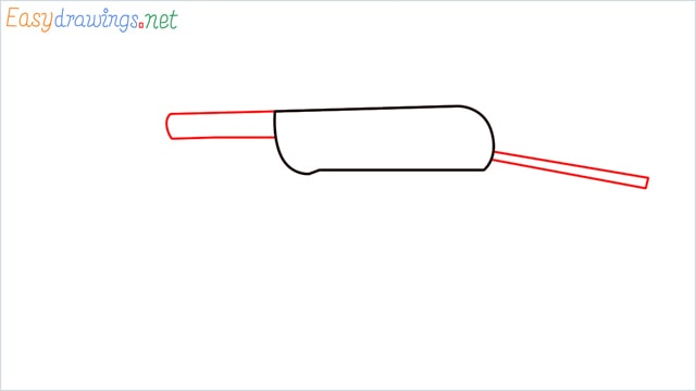 how to draw mp40 step (2)