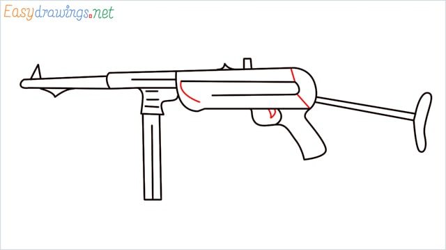 how to draw mp40 step (9)