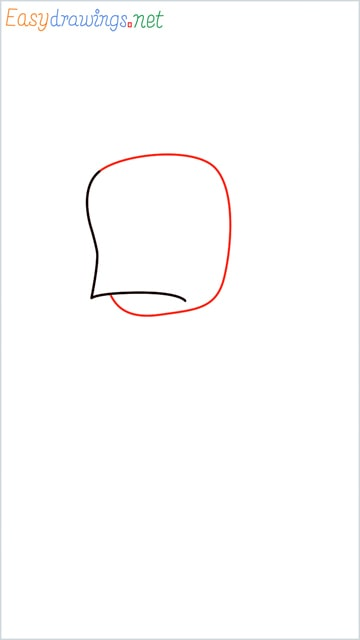 how to draw ninja hattori step (2)