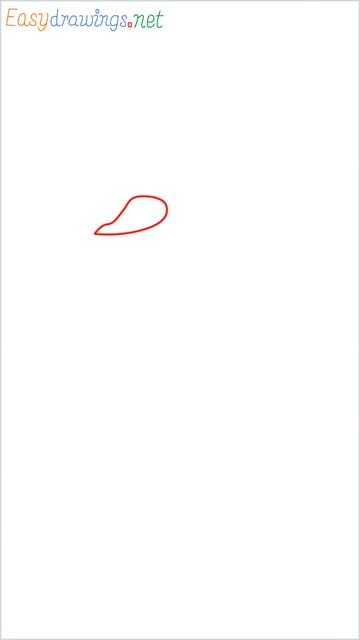 how to draw olaf step (1)