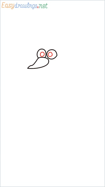 how to draw olaf step (3)