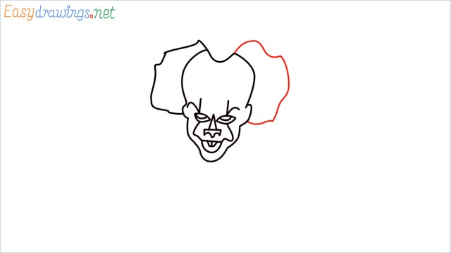 how to draw pennywise step (10)