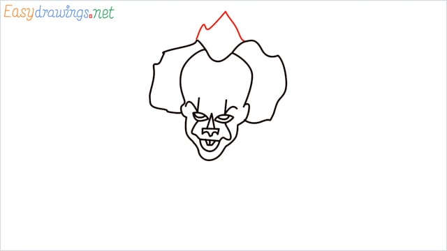 how to draw pennywise step (11)