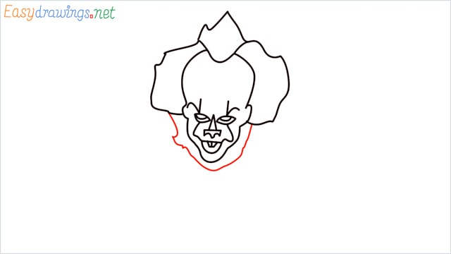 how to draw pennywise step (12)