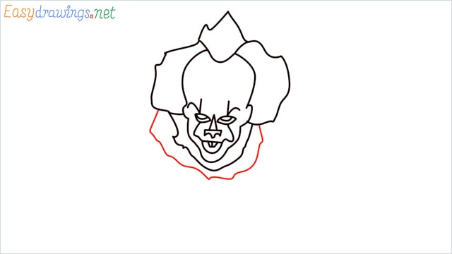 how to draw pennywise step (13)