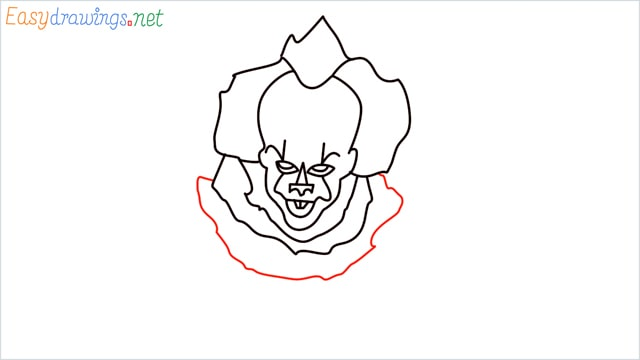 how to draw pennywise step (14)