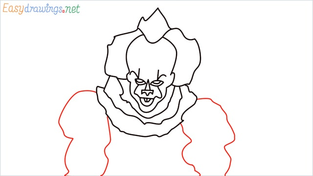 how to draw pennywise step (15)