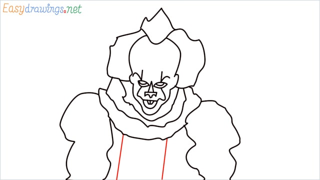 how to draw pennywise step (16)