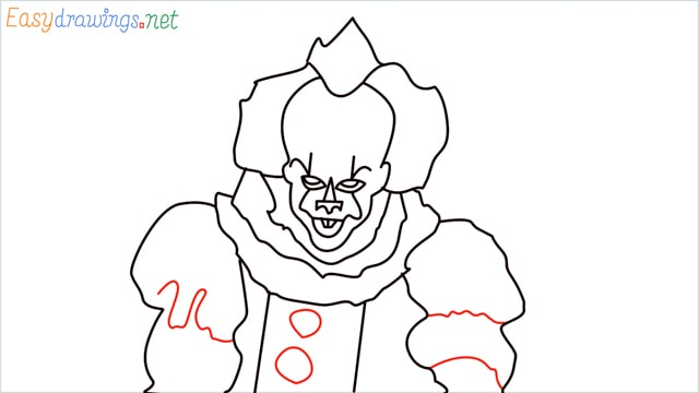 how to draw pennywise step (17)