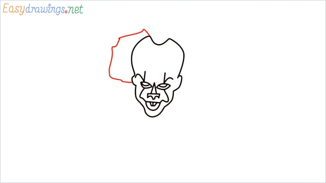how to draw pennywise step (9)