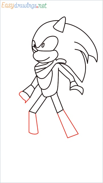 how to draw sonic the hedgehog step (11)