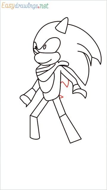 how to draw sonic the hedgehog step (12)