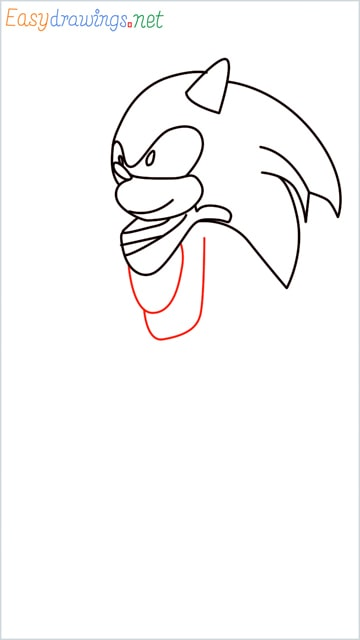 how to draw sonic the hedgehog step (8)