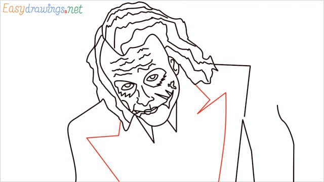 how to draw the joker step (18)