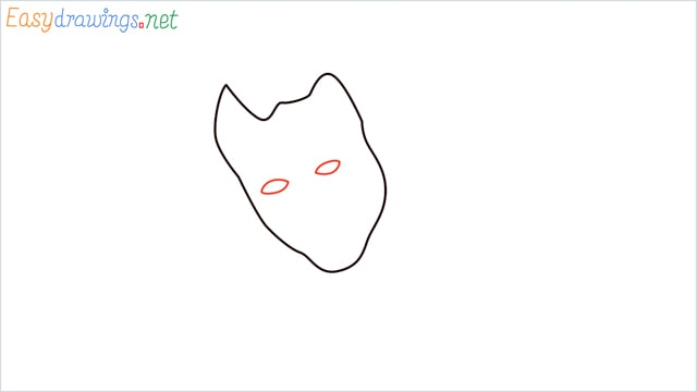 how to draw the joker step (2)