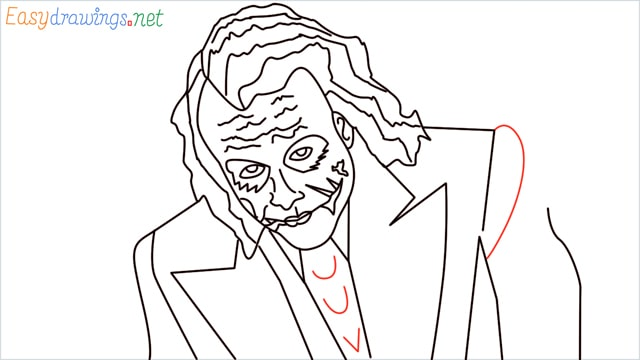 how to draw the joker step (20)