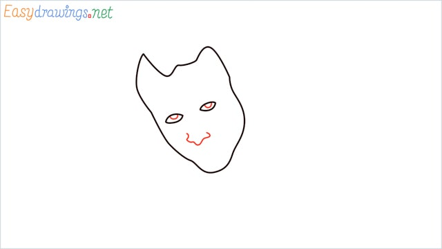 how to draw the joker step (3)