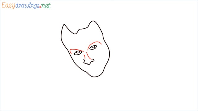 how to draw the joker step (4)